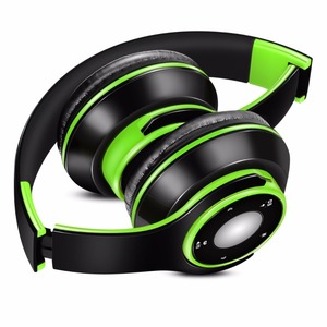 Image 3 - Foldable Colorful Wireless Stereo Bluetooth Over Ear Headphones with Microphone and TF card play for Kids Children Women Men