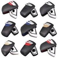 Leder Auto Keychain Für BMW Schlüssel Fall F30 F10 Für Bmw F30 F20 X3 X4 3 5 4 7 Serie auto Schlüssel Abdeckung Leder Schlüssel Brieftasche Auto Styling-in Schlüsseletui für Auto aus Kraftfahrzeuge und Motorräder bei