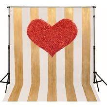 Custom Baby Photography Backdrops Vinyl Backdrops For Photography Red Heart Backgrounds For Photo Studio Vinilo Fotografia