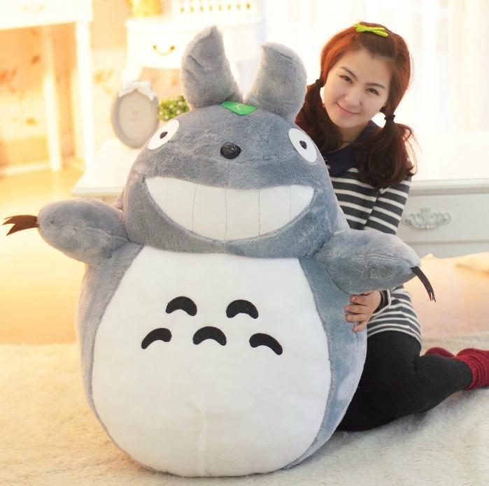 Hot sale toys 60cm Totoro dolls Famous Carton Anime toys My Neighbor Totoro Plush toys brinquedos