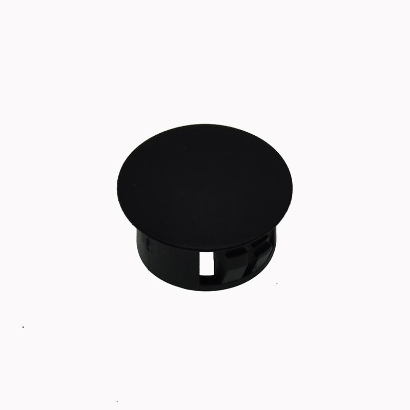 black plastic caps hole plugs pressure caps