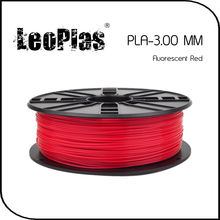 Worldwide Fast Delivery Manufacturer 3D Printer Material 1 kg 2.2 lb 3mm Fluorescent Red PLA Filament