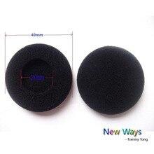 4pcs 4cm Foam Earbud earphone Thick sponge ear buds Headphone Ear pads cushion Replacement Sponge Covers Tips For Earphone
