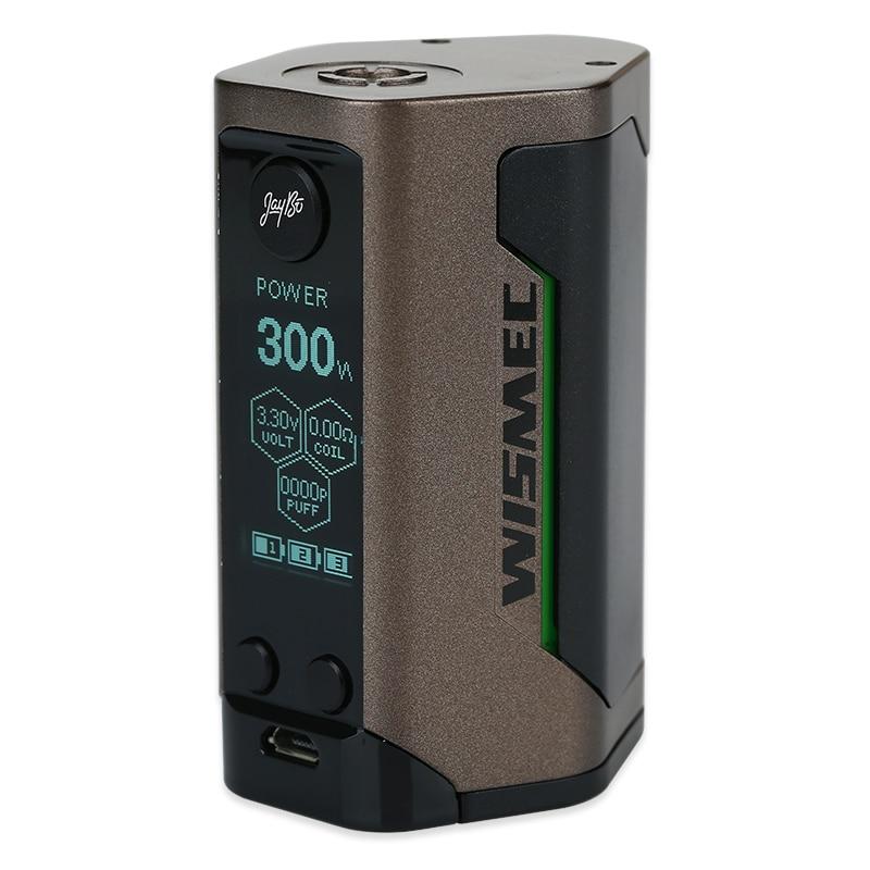 D'origine WISMEC Reuleaux RX GEN3 300 W boîte de tc MOD 300 W Max Sortie et Double Circuit Protection No18650 Batterie Vaporisateur boîte VS Glisser Mod - 4