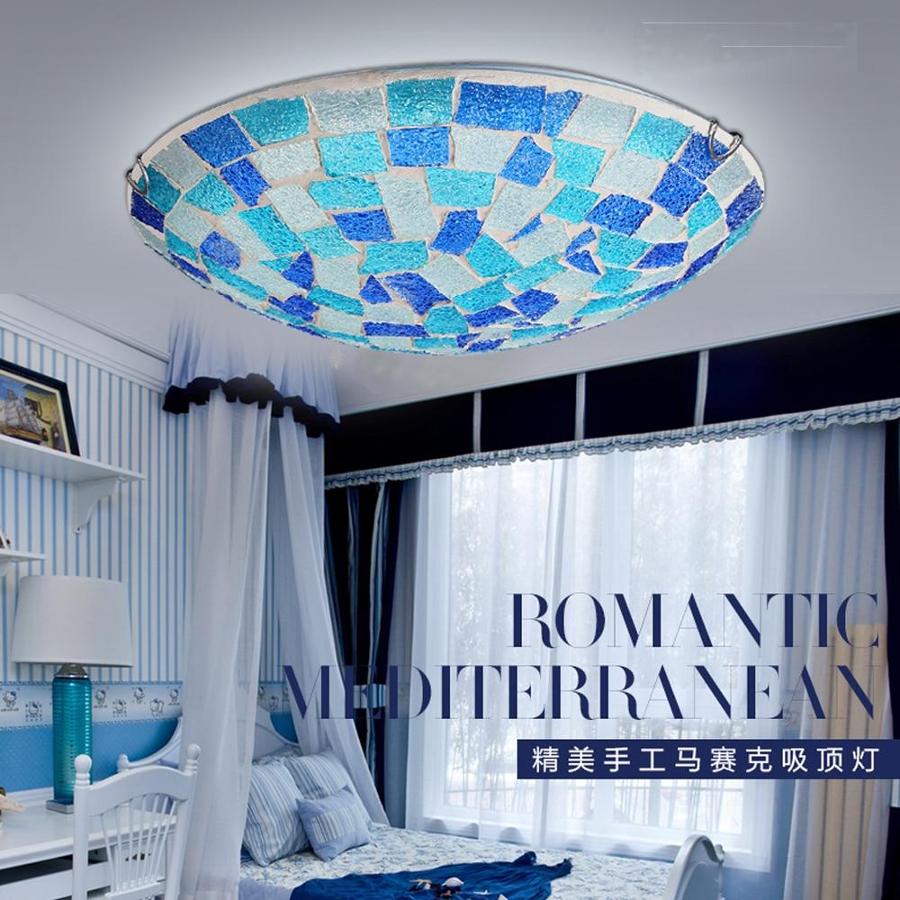 LED Mediterranean Sean Acryl Glass LED Lamp LED Light Ceiling Lights Ceiling Lamp LED Ceiling Light For Bedroom Dinning Room