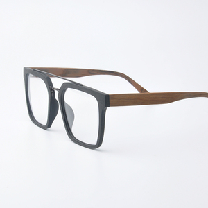 Image 5 - Instagram ผู้หญิง Hot VINTAGE กรอบแว่นตาผู้ชายใหม่สแควร์ Acetate แว่นตาขนาดใหญ่แว่นตาสายตาสั้น Blue Light แว่นตาล้างเลนส์