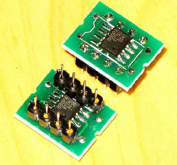 Free Shipping! 1pc OPA627 Dual op amp SMD turn DIP