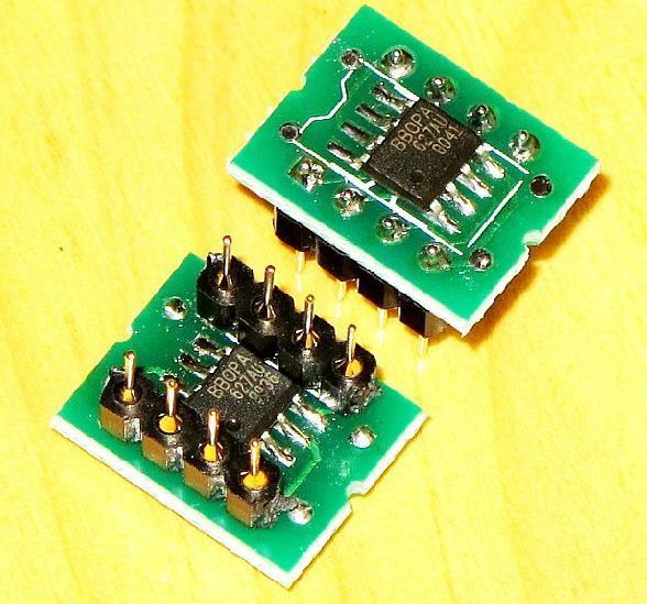 Frete Grátis! 1 pc OPA627 Dual op amp SMD vez DIP