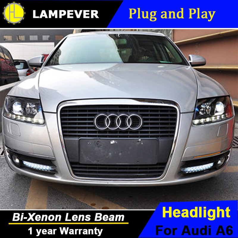 Lampever Styling For A6 C5 Headlights 2005 2008 A6 Led Headlight Drl