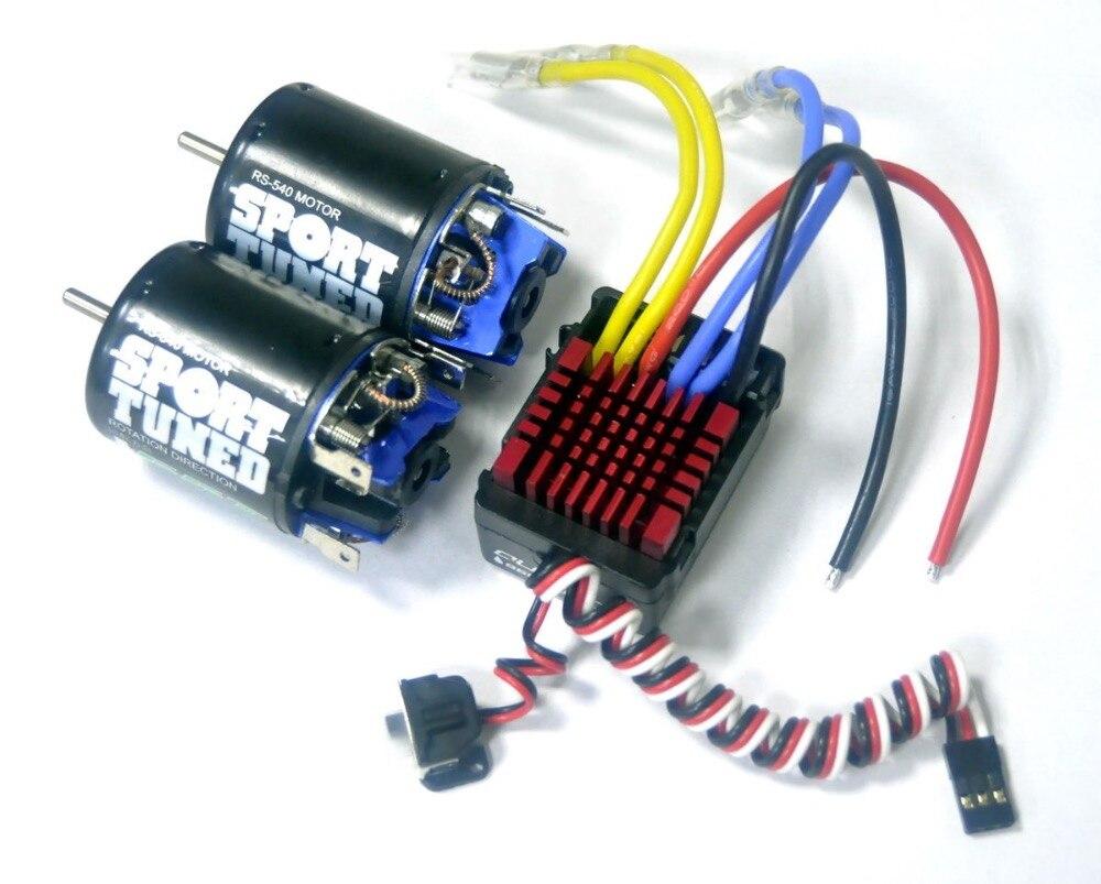 Hpi Esc Wiring Diagram Simple Schema Ac Servo Motor 2pcs Motors With Wp860 Elekro Hobbywing For Axial