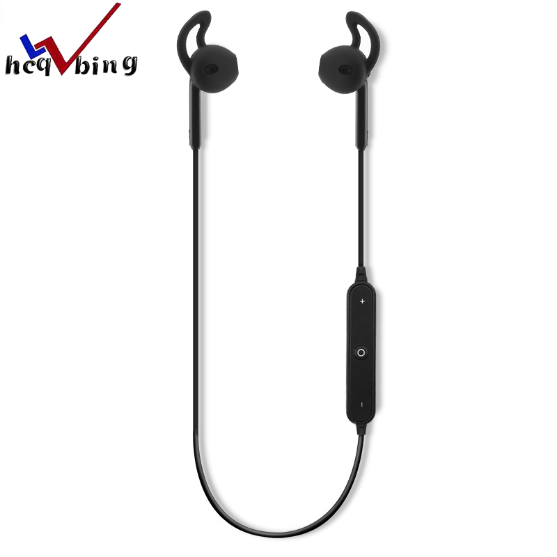 HCQWBING Original S6 Bluetooth sports headset Earbuds Headset Sport Wireless Earphone Earbuds with Microphone For iPhone Android 50pcs lot original s9 bluetooth headset s9 sports headphones wireless headset for iphone android iso