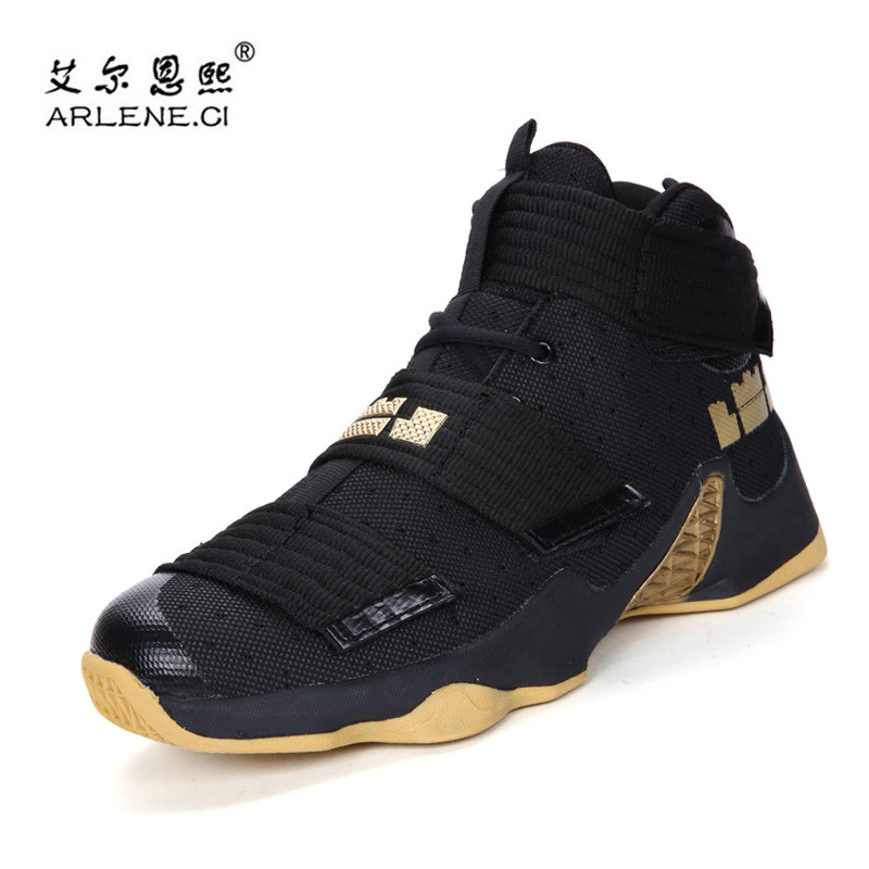 code promo 63ff2 43f64 US $21.53 35% OFF|2019 Men Basketball Shoes for Outdoor High Top Brand  Ankle Boost Women Sports Shoes Basket Homme Trainer Couple Sneakers-in ...