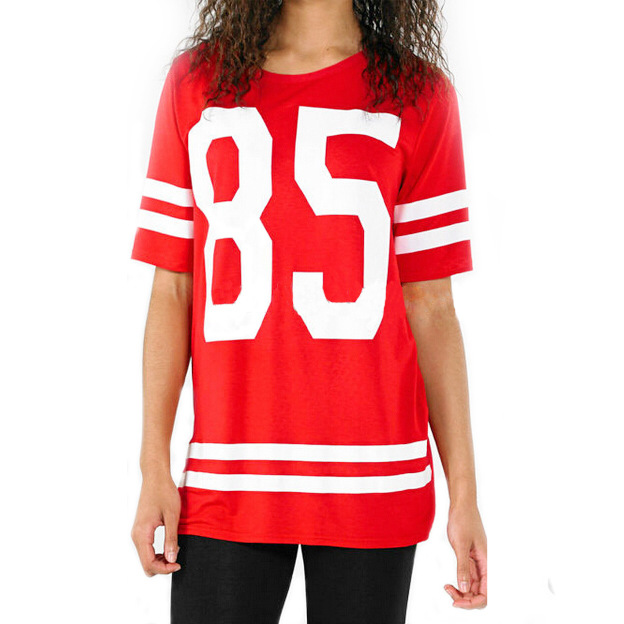 Women varsity baseball uniform numbers 85 t shirt printing for Kids t shirt printing