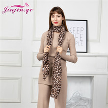 Jinjin.QC New Scarf Women Viscose Material Animal Print detail Casual Print No Pattern 180*90cm Fashionable Lightweight Scarves недорого