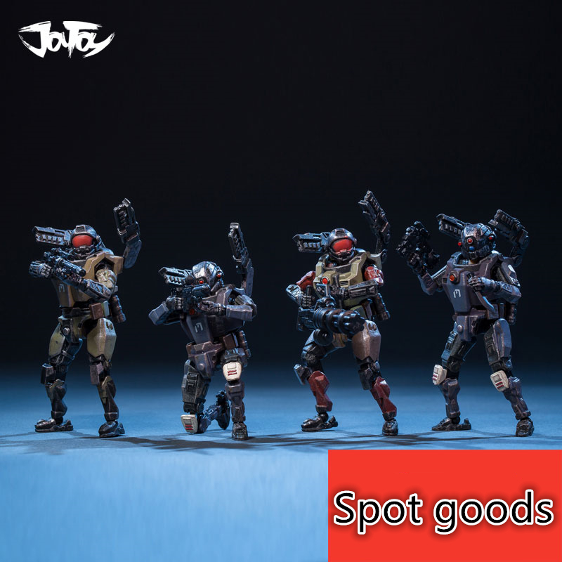 JOY TOY 1:25 Soldiers Action Figure CYBORG CORPS  Military Soldiers Holiday/Birthday Gift  New Boxed