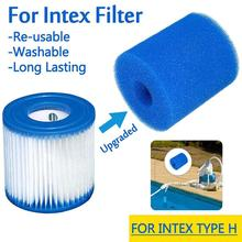 цена на Swimming Pool Foam Filter Intex Type A B C Sponge Reusable Washable Biofoam Filters Clean Water Foam Cartridge Pool Accessories