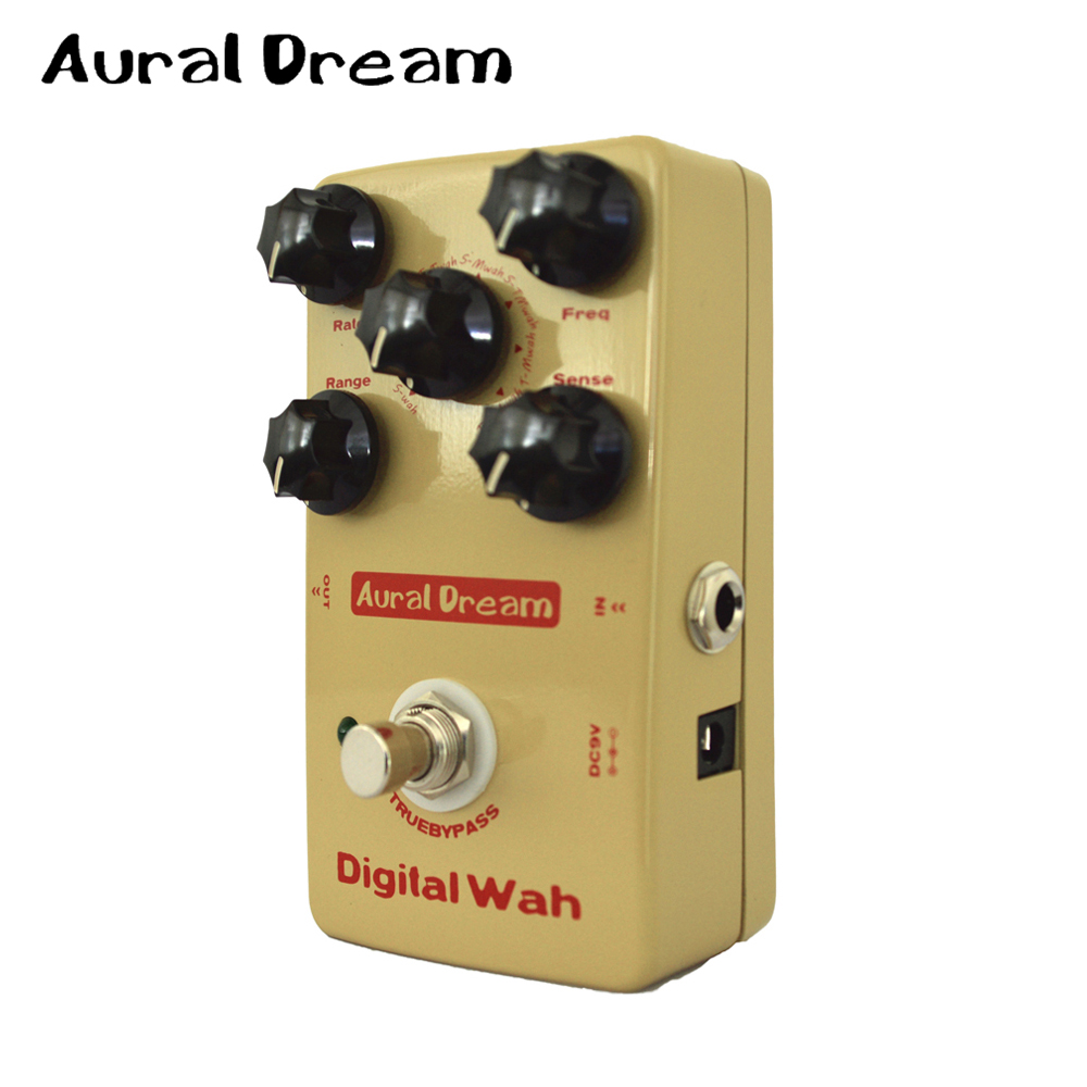 aural dream digital wah 8 algorithms guitar effect pedal wtih true bypass design in guitar parts. Black Bedroom Furniture Sets. Home Design Ideas