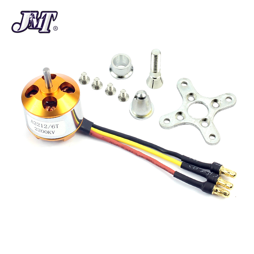 A 2212 A2212 2200KV Brushless Outrunner Motor Mount 6T For RC Aircraft Plane Multi-copter Quadcopter Drone F02048