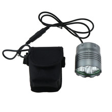 Waterproof 6000 Lumen Cycling Bike Light 5xCree XML T6 Led Flashlight Headlamp Accessories for Bicycle + 18650 Battery pack