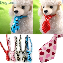 цена на OUSSIRRO Factory Price  1PC New Adjustable Dog Cat Teddy Pet Puppy Toy Grooming Bow Tie Necktie Clothes Oct101