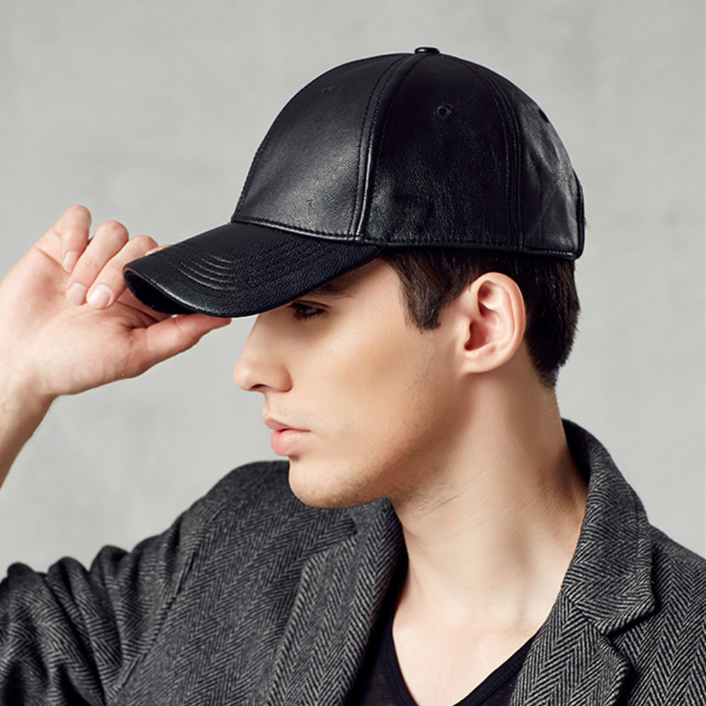 Hot Selling Kenmont Winter Autumn Men 100% Oxhide Genuine Leather Baseball  Cap Visor Outdoor Sports Hat High Quality 2269 on Aliexpress.com  6a1b89640108