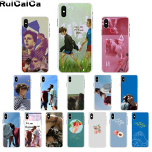 RuiCaiCa Call Me by Your Name Custom Photo Soft Phone Case for iPhone 8 7 6 6S Plus 5 5S SE XR X XS MAX Coque Shell