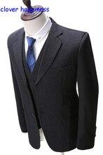 Real Summer Men Blazer Masculino Custom Made Tuxedo Slim Fit Suit Mens Wedding Suits 3 Pieces (jacket+pants+Vest)