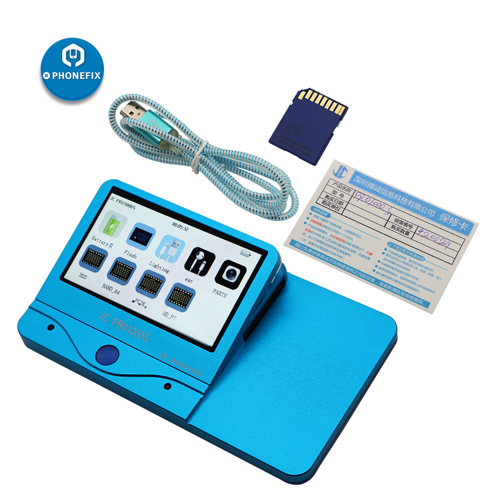 Image 2 - JC Pro1000s LCD Screen Photosensitive Data Programmer Phone Photoreceptor Repair Read Rewrite Backup Tool for iPhone 8 8plus X-in Hand Tool Sets from Tools