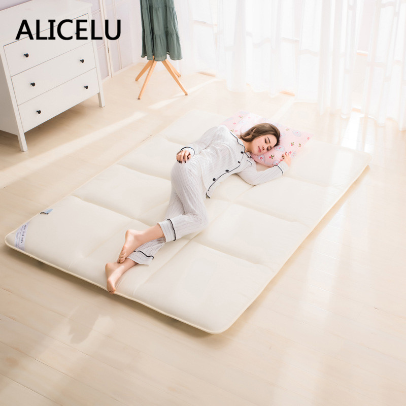 Alicelu Bed Mattress Pad Sheets Double Single Bed Cushion Mattress Topper Soft Comfortable Breathable Tatami Bed Mattress In Mattress Covers