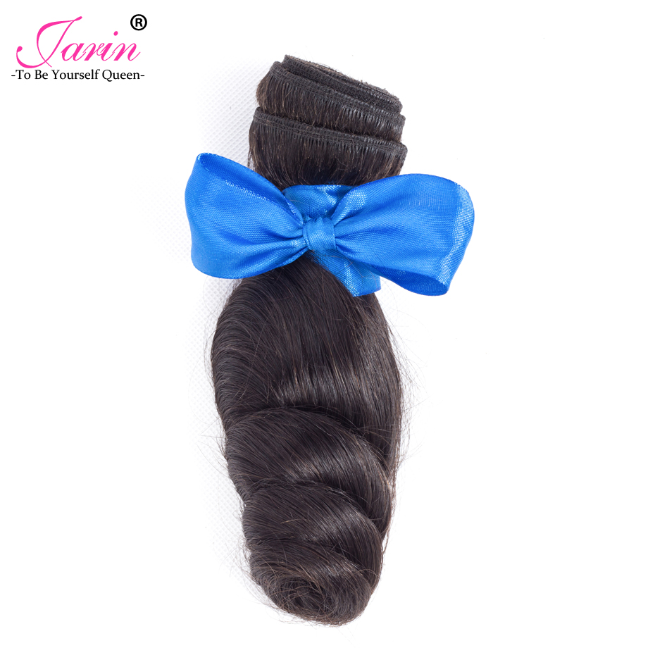 Jarin Peruvian Loose Wave Bundles 100% Human Hair Bundles 1Piece 8-28inch Remy Hair Weave Extension Can Buy 3 or 4 Bundles