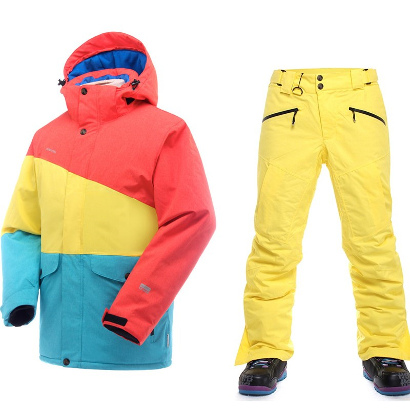 Top Quality 2016 font b ski b font font b suit b font font b men