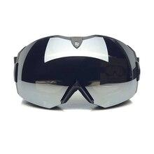 2016 Winter mountain ski goggles odd and even plate glasses double anti fog Cocker myopia mirror