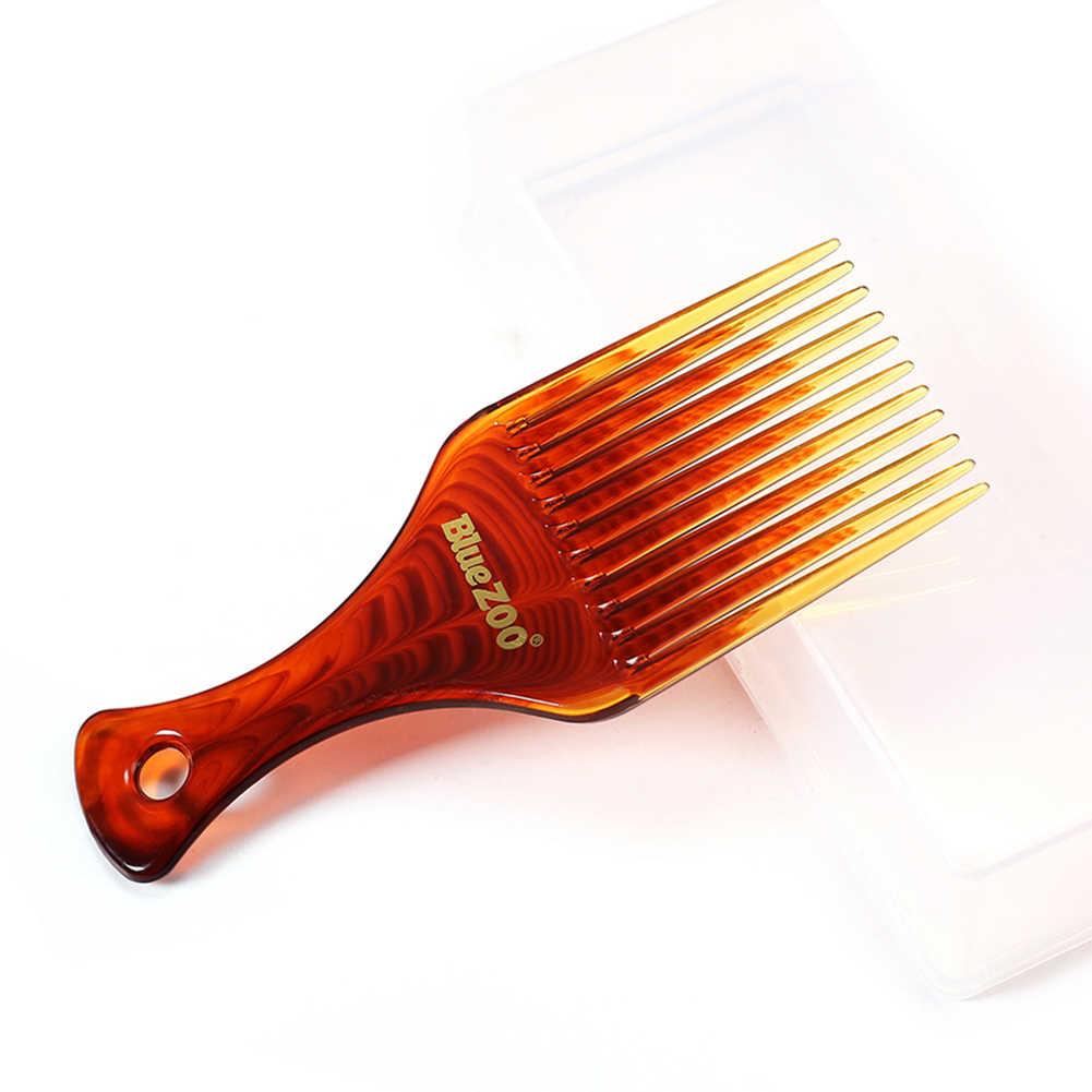 1 шт. Складная Расческа для укладки волос вставка афро гребень для волос Расческа гребни для волос масляная щётка для волос для мужчин аксессуары для парикмахерских