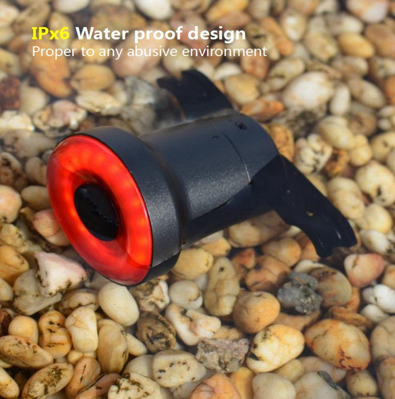 Bicycle Taillights Intelligent Lights Induction Brake Lights Usb  Charging Night  Riding  Taillights