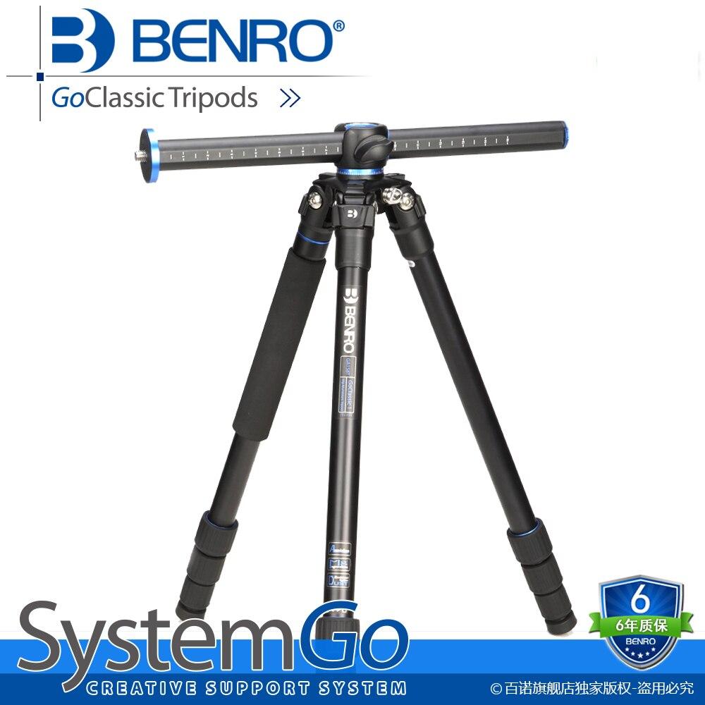 Benro מרובה מצלמה מקצועית slr דיגיטלית systemgo חצובות אלומיניום צילום חצובה 3/8 חוט ''accessory ga158t