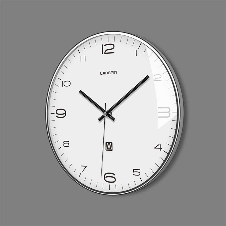 Nordic Modern Clocks Wall Home Decor Kitchen Clock Accessories Watch Wall Silent Saat Living Room Decoration Large Clock 50KO523