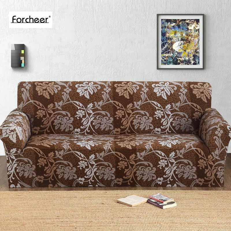 Perfecto Floral Muebles Sofás De Impresión Imagen - Muebles Para ...