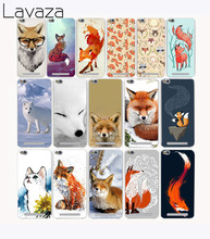 Lavaza 2219G Mr cute Fox Z3j Print Hard Case for Xiaomi Redmi 4X 4 4A Pro prime Note 4 4X 2 3S 3 Pro Mi5 Mi5s Mi6 Mi 5 6 5S