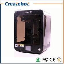 Full Metal Createbot Mini 3D Printer Kit Dual Extruder Enclosed design 150*150*220mm Printing Area 3d printer  with Hot Bed