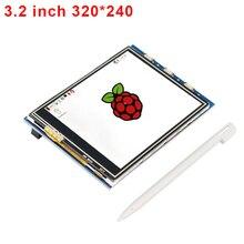 3.2 дюймов Raspberry Pi 3 сенсорный экран 320*240 TFT ЖК-дисплей Дисплей модуль + сенсорная Стилусы ручка Compatiable для Малина PI 2 Модель B