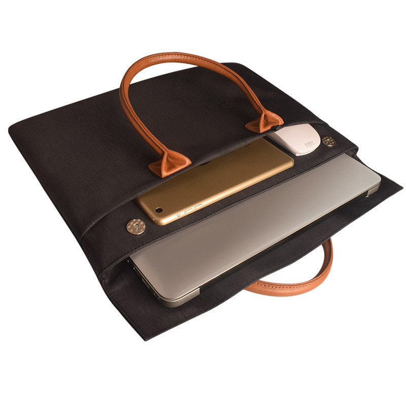 Waterproof Men/Women laptop Bags Computer Case Handbag Briefcase 13/14 Inches for Male Portable Notebook Bag цены