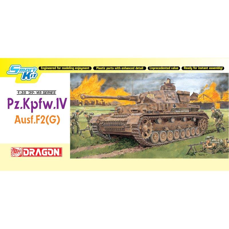 DRAGON 6360 1 35 Pz Kpfw IV Ausf F2 G Scale Model Kit