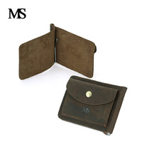 High Quality Men Genuine Leather Mini Coin Purse Small Coin Bags Slim Wallet Creative Designer Cowhide