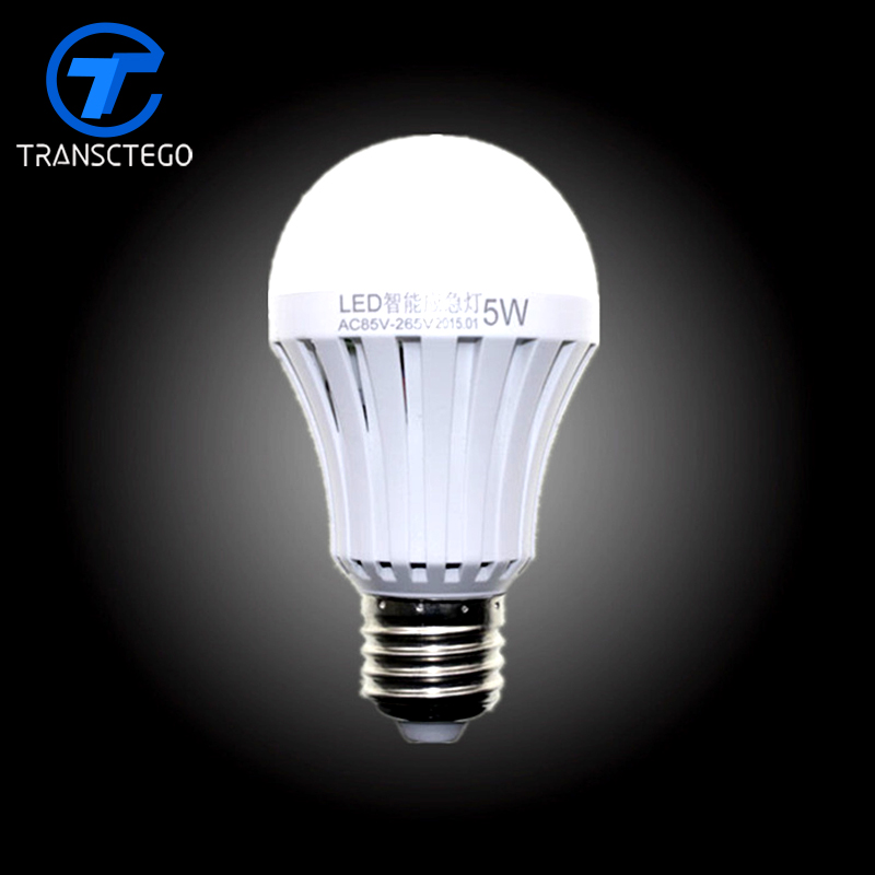 LED smart emergency lamp led bulb led e27 bulb lights light bulb energy saving 5W 7W 9W after power failure automatic lighting купить