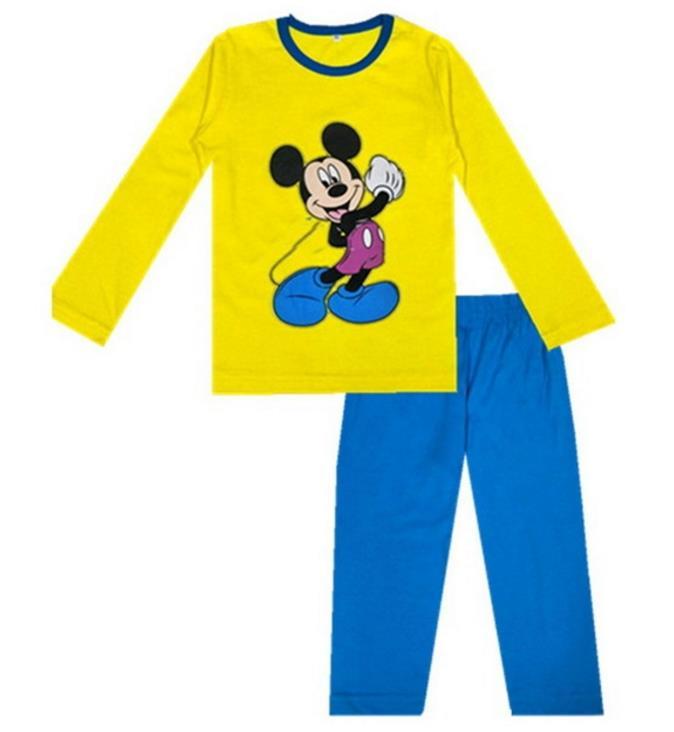 Frühling & Herbst Kinder Mädchen Pyjama Enfant Kleinkind Junge Unterwäsche Pyjamas Set 100% Baumwolle Jungen Schlafanzug Langarm Pijamas Anzug Modischer (In) Stil;