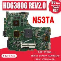 N53TA Motherboard HD6380G REV 2.0 For ASUS N53T N53TA N53TK laptop Motherboard N53TA Mainboard N53TA Motherboard test 100% OK