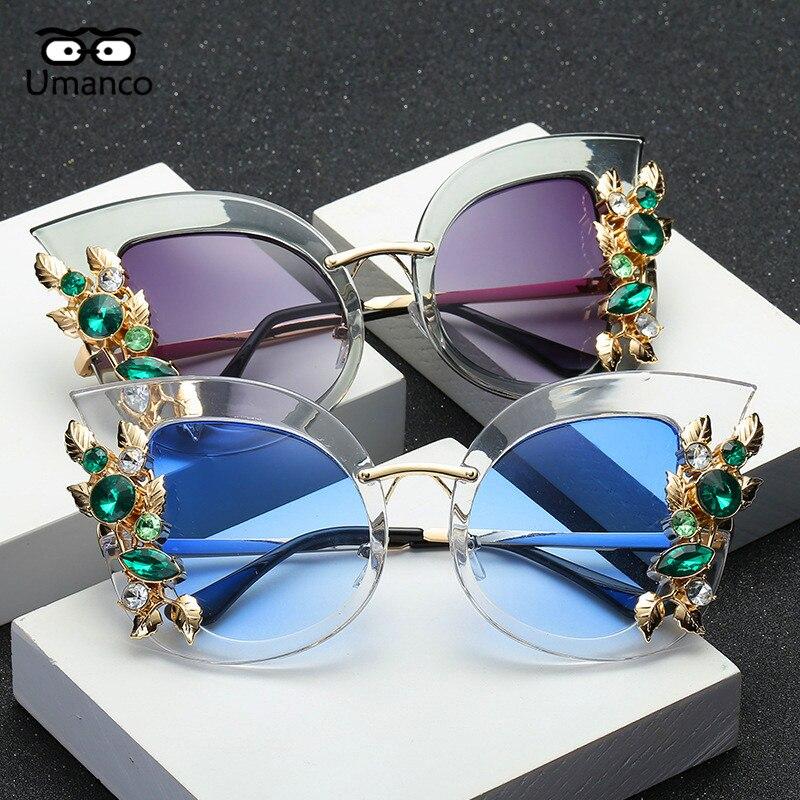 ea167862208f5 Umanco Moderno Espelho Redondo de Plástico de Grandes Dimensões óculos de  Sol Das Mulheres Dos Homens Do Vintage Pernas Largas Masculino Óculos de  Moda de ...