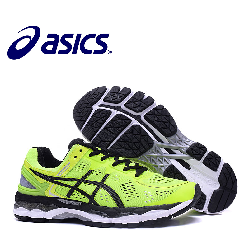 ASICS GEL-KAYANO 22 2018 Hot Sale Asics Sneakers Shoes Man's Stability Running Asics Sports Athletic Shoes Outdoor Athletic стяжка пластиковая panduit plt3i m 290x3 7мм упак 1000шт нейлон 6 6 внутри помещений до 85 белый