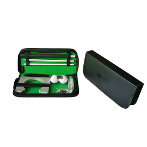 Image 2 - Golf Putter Putting Trainer Mini Golfuitrusting Practice Kit Reizen Praktijk Indoor Golfs Accessoires Golf Training Aids Tool