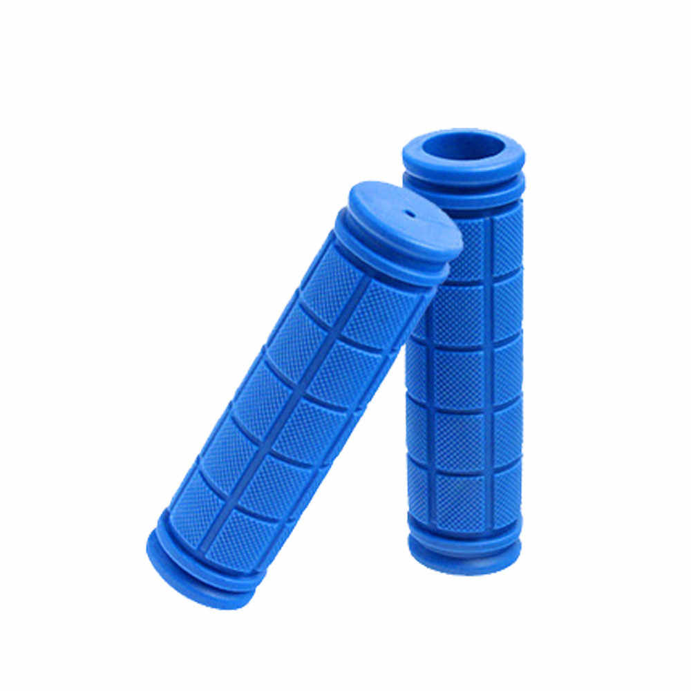 12 cm Rubber Bicycle Handlebar Grips Fixie Fixed Gear Bike Rubber 8 Colors Bicycles Bar Grips Fixed Gear Bicycle Parts